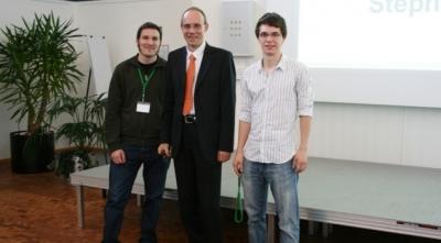 Winner of the student award 2009