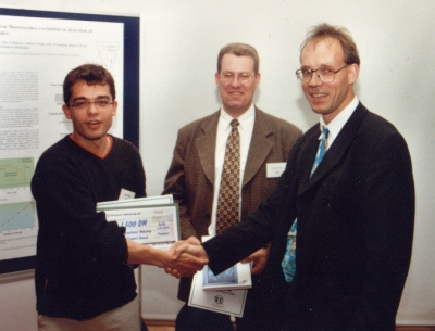 Winner of the student award 1999