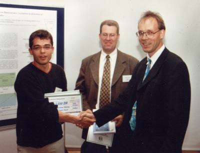 Winner of the student award 1999