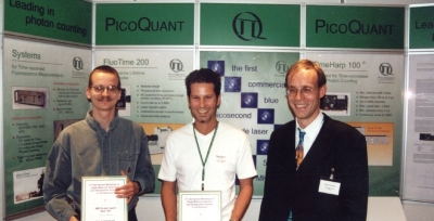 Winner of the student award 2000