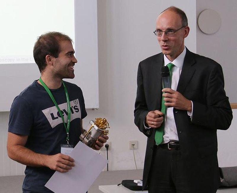 Winner of the student award 2015