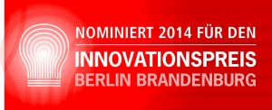 Nomination Innovationspreis Berlin Brandenburg 2014