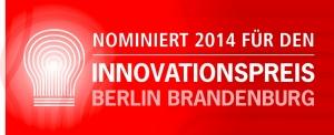 Nomination Innovationspreis Berlin Brandenburg 2014