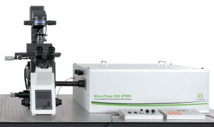 Image MicroTime 200 STED Time-resolved Confocal Fluorescence Microscope with Super-resolution Capability