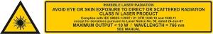 laser sign class 4 | VisIR