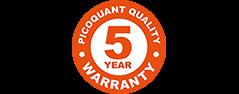5 year warranty  | MultiHarp 150