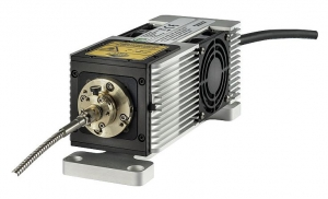 Laser head from the LDH-I Series with fiber coupler   LDH-I Series
