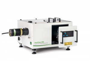 FluoTime 250 with open sample chamber | FluoTime 250