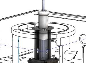 Sample mounting unit for liquid nitrogen dewar