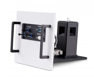 Sample mounting unit with temperature controlled holder for 1x1cm cuvettes | FluoTime 300