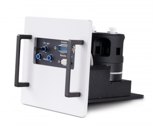Sample mounting unit with 4-position holder for 1x1cm cuvettes | FluoTime 300