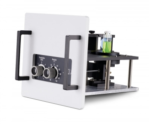 Sample mounting unit in front face design with cuvette holder  | FluoTime 300