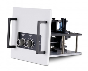 Sample mounting unit with clamp front face sample holder | FluoTime 300