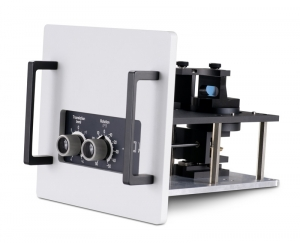 Sample mounting unit with front face sample holder