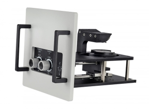 Sample mounting unit for wafers and flat samples