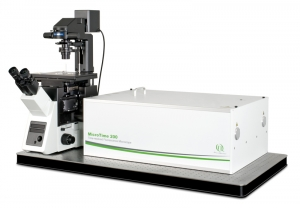 Image MicroTime 200 Time-resolved confocal fluorescence microscope with unique single molecule sensitivity