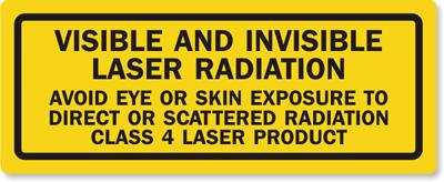 Laser Class Sign 4