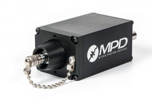 PDM SPAD with FC/PC fibre coupler