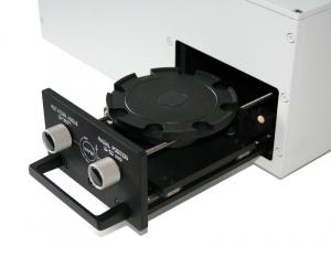 Wafercheck 150 - Detailed view of sample space | Wafercheck 150